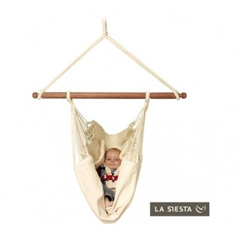 Závěsná houpačka pro miminko 100% BIO bavlna