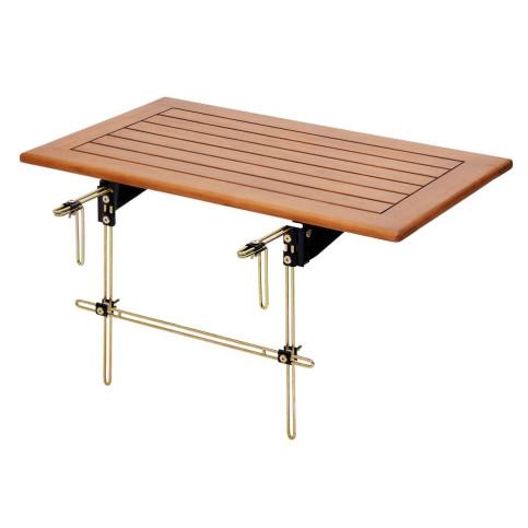 Balkonový stolek pro připevnění na zábradlí