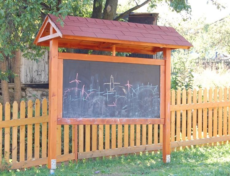 Dětská venkovní tabule na kreslení