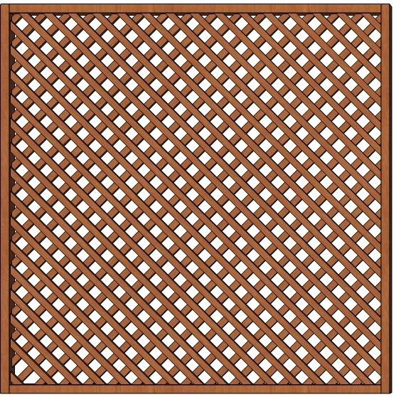 Mříž Jana 180 x 180