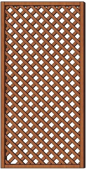 Mříž Jana 90 x 180