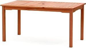 Obdélníkový zahradní stůl