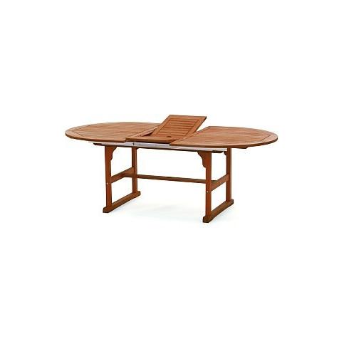 Oválný rozkládací stůl
