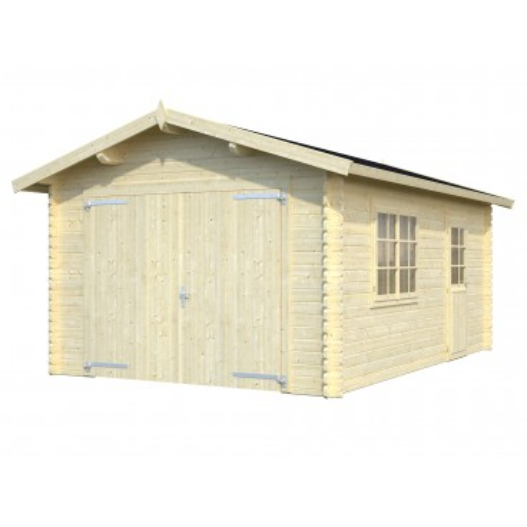 Dřevěná garáž Vladeko 38