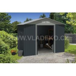 Plechový zahradní domek Platinum