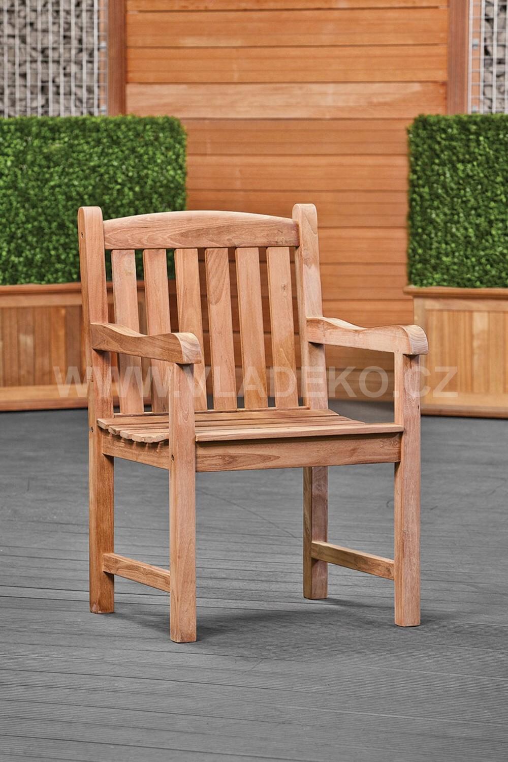 Zahradní židle Birmingham z teakového dřeva