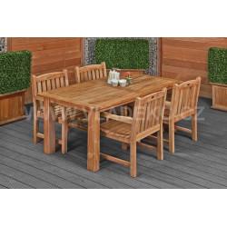 Zahradní stůl Modern z teakového dřeva
