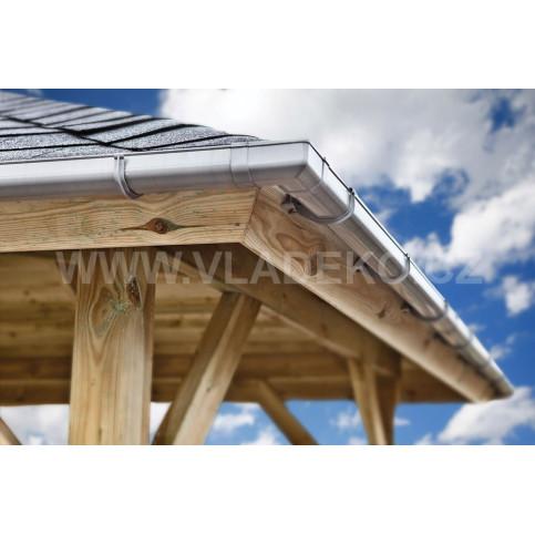 Okapový set 4m pro čtvercové střechy