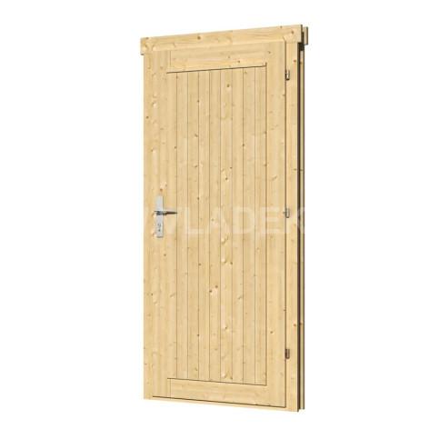 Jednokřídlé dveře DL10, levé