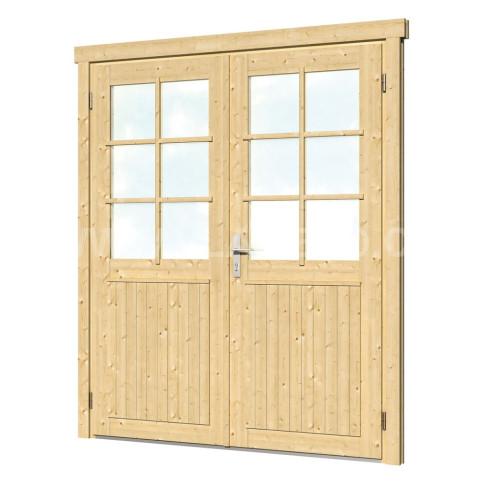 Dvoukřídlé dveře XXL, levé