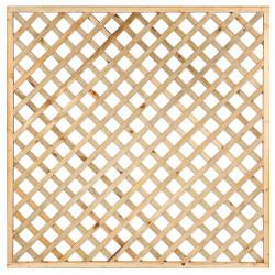 Impregnovaná mříž s rámem diagonal 180 x 180 cm