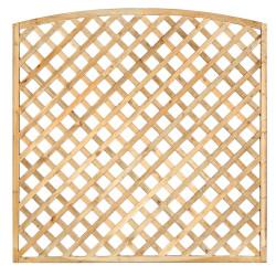Impregnovaná mříž s obloukem diagonal 180 x 180 cm