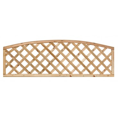 Impregnovaná mříž s obloukem diagonal 60 x 180 cm