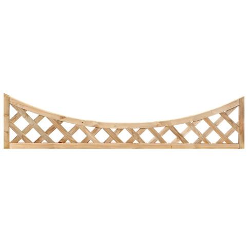 Impregnovaná mříž s vnitřním obloukem diagonal 40 x 180 cm