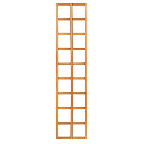 Mříž bez rámu z tvrdého dřeva 45