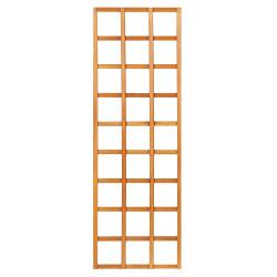 Mříž bez rámu z tvrdého dřeva 180 x 60 cm