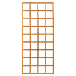 Mříž bez rámu z tvrdého dřeva 180 x 90 cm