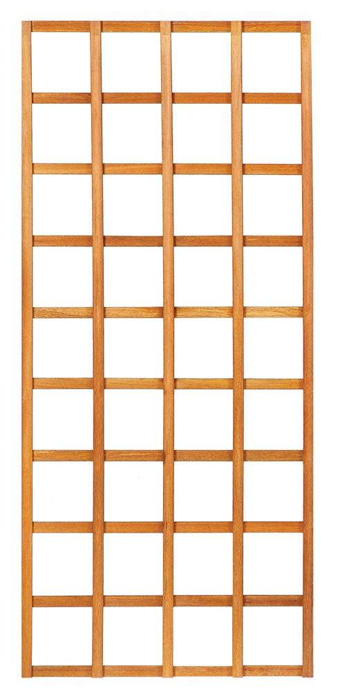 Mříž bez rámu z tvrdého dřeva 90