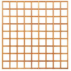 Mříž bez rámu z tvrdého dřeva 180 x 180 cm