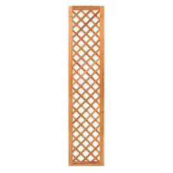 Mříž z tvrdého dřeva s rámem 180 x 40 cm