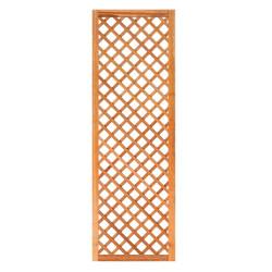 Mříž z tvrdého dřeva s rámem 180 x 60 cm