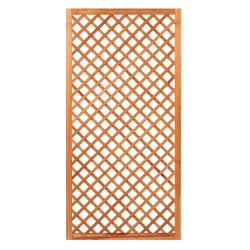 Mříž z tvrdého dřeva s rámem 180 x 90 cm