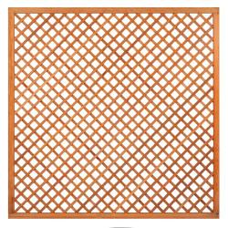 Mříž z tvrdého dřeva s rámem 180 x 180 cm