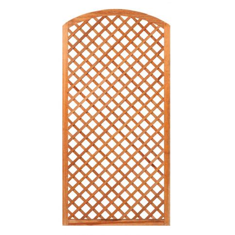 Mříž z tvrdého dřeva s obloukem 190 x 90 cm