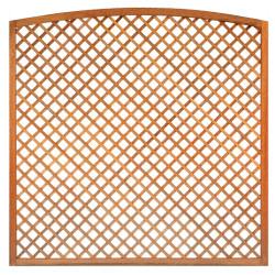 Mříž z tvrdého dřeva s obloukem 180 x 180 cm