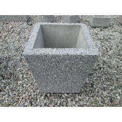 Betonový odpadkový koš, malý