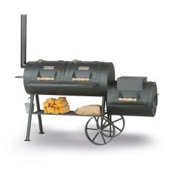 Gril na dřevěné uhlí Smoky Fun Party Wagon 24