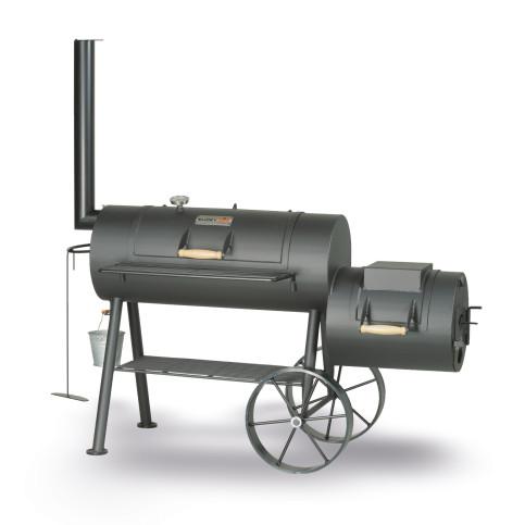 Smoky Fun gril na dřevěné uhlí Party Vagon 5