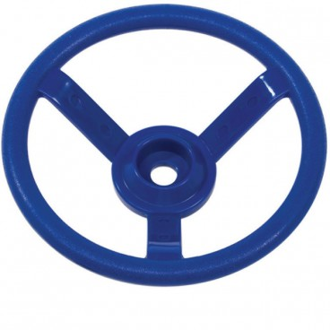 Dětský plastový volant modrý