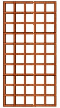Mříž Klára 65 x 185