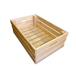 Dřevěná bedýnka 60 x 40 x 26 cm