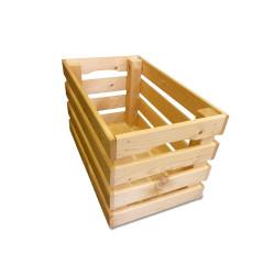 Dřevěná bedýnka 50 x 30 x 20 cm