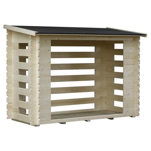 Dřevěný přístřešek na dřevo CA2840