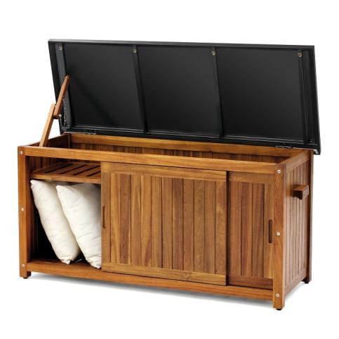 Dřevěný úložný box velikost L