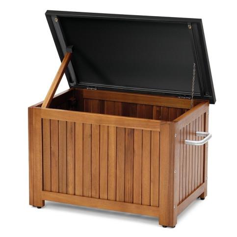 Dřevěný úložný box velikost S