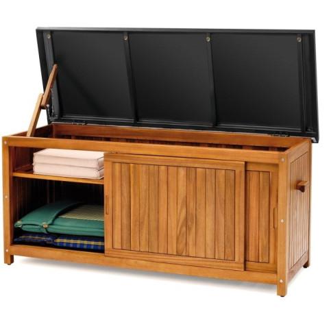 Dřevěný úložný box velikost XL