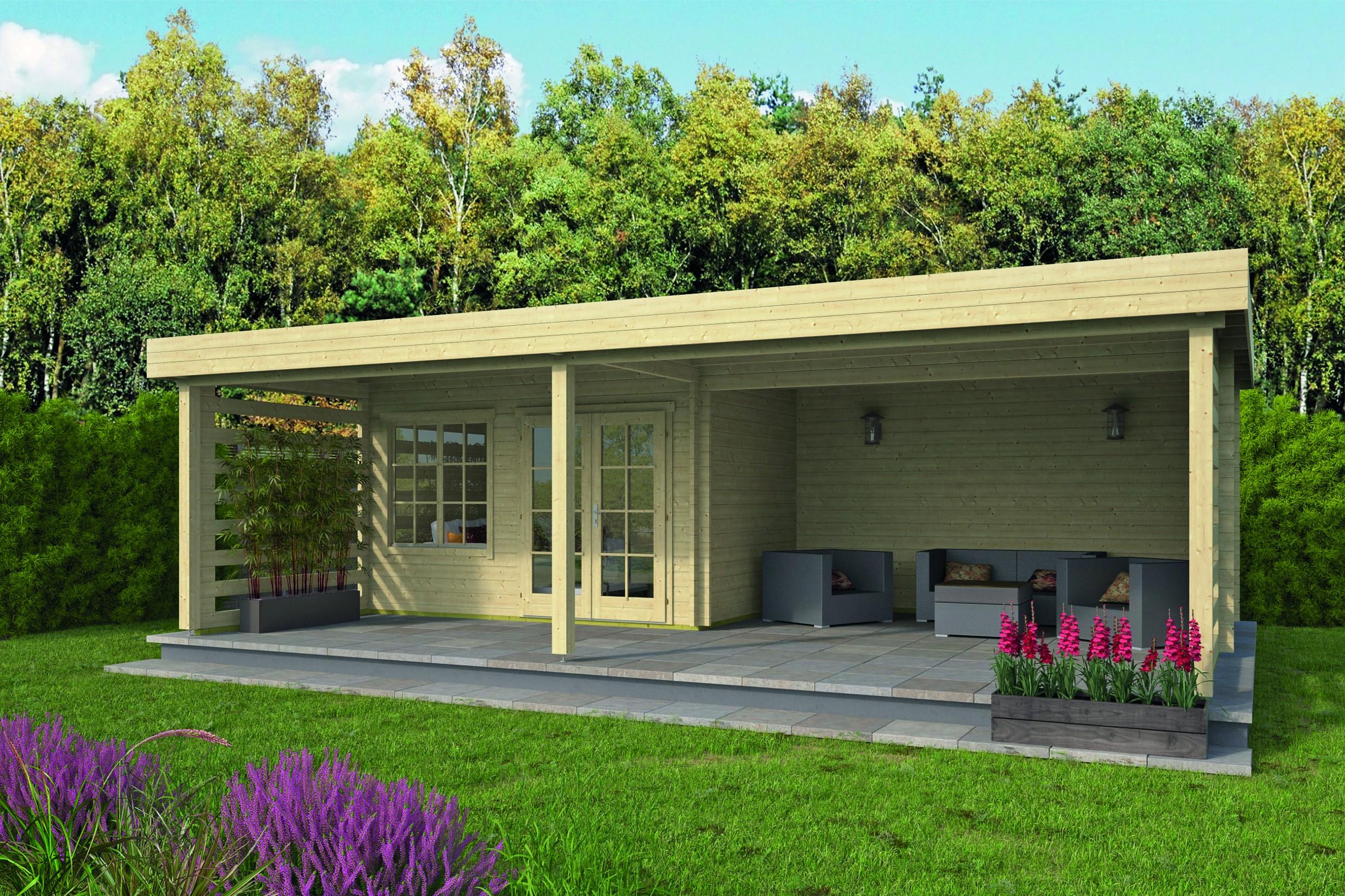 Zahradní chata Lilou