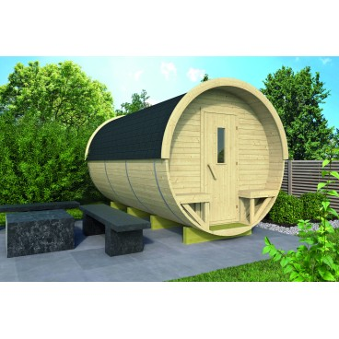 Zahradní domek Camping Barrel -sud