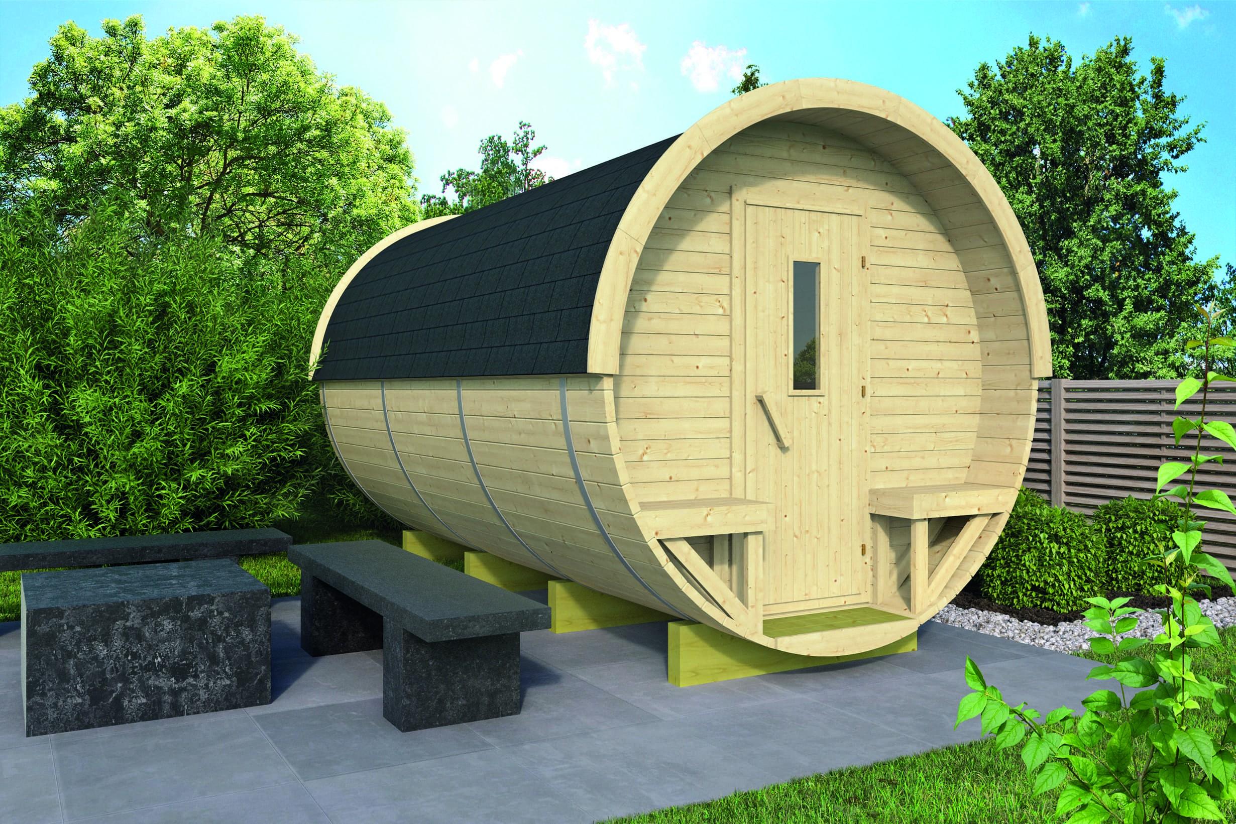 Zahradní domek Camping Barrel