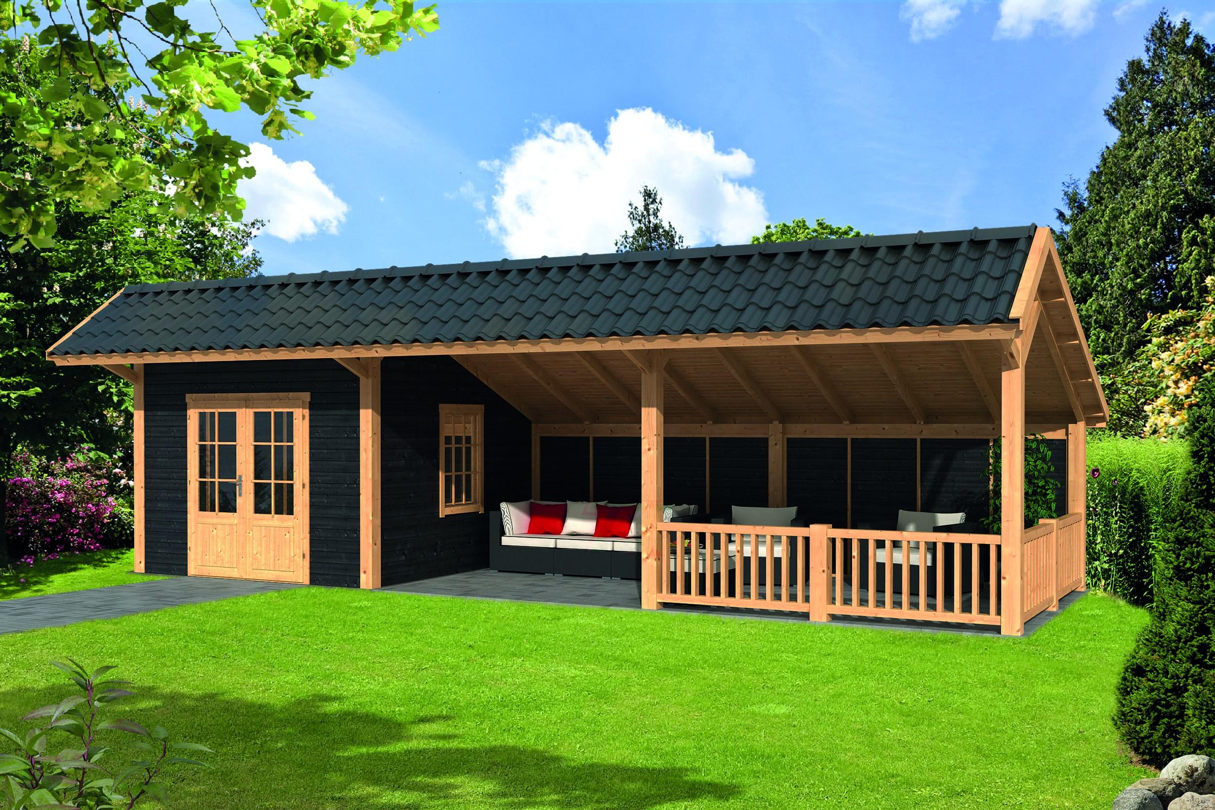 Montovaná chata Bergen 8 L
