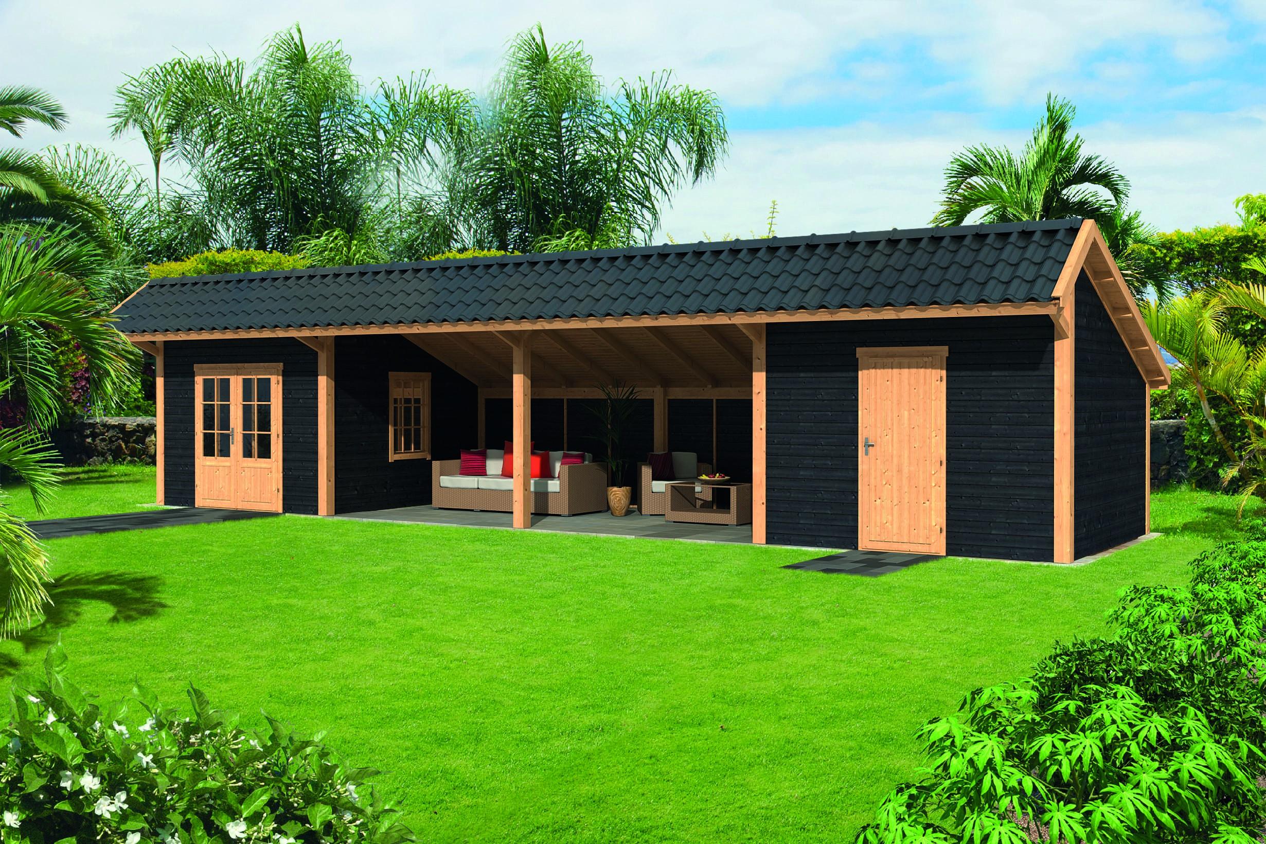 Montovaná chata Bergen 12 XL