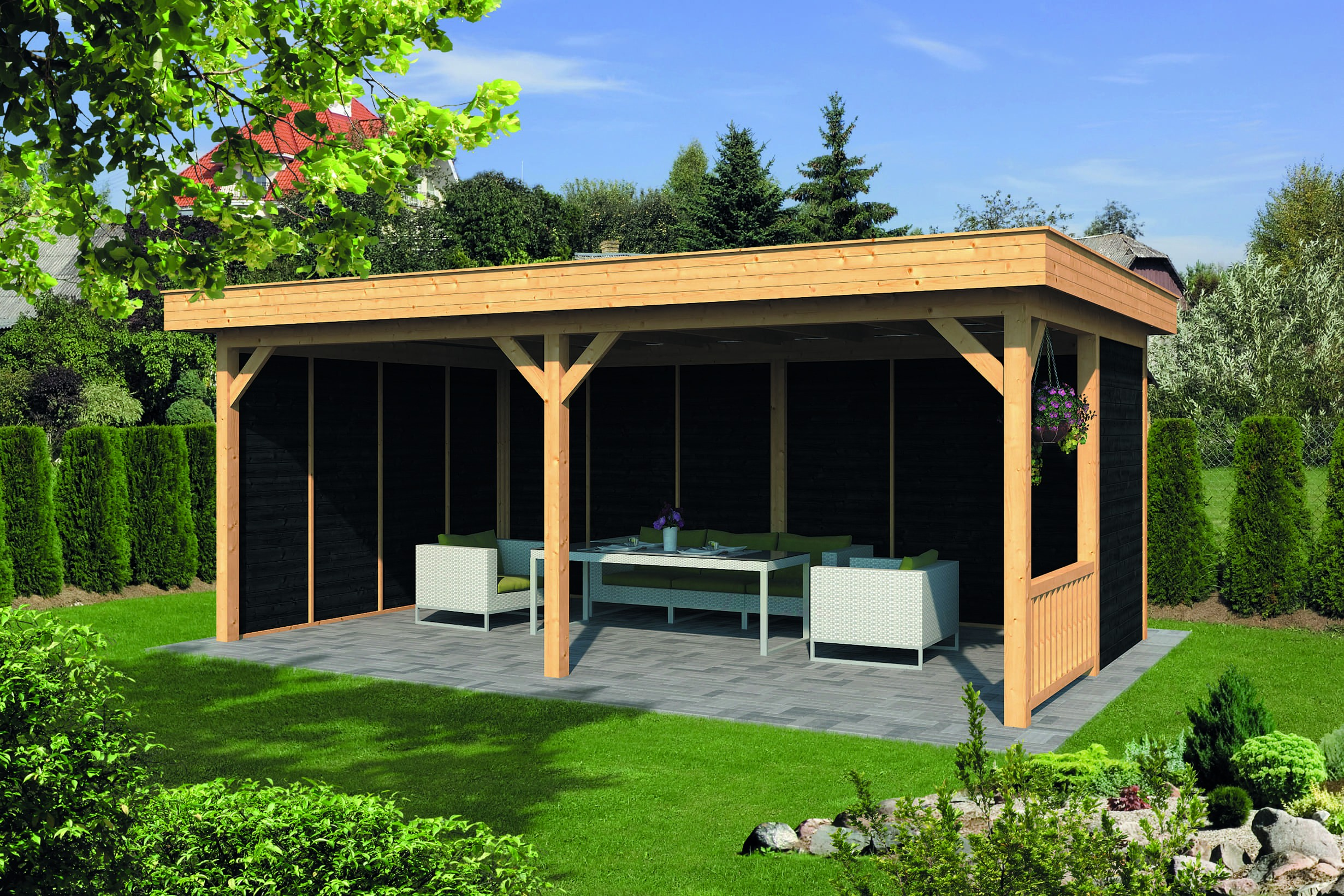 Montovaná chata Oslo 3 L
