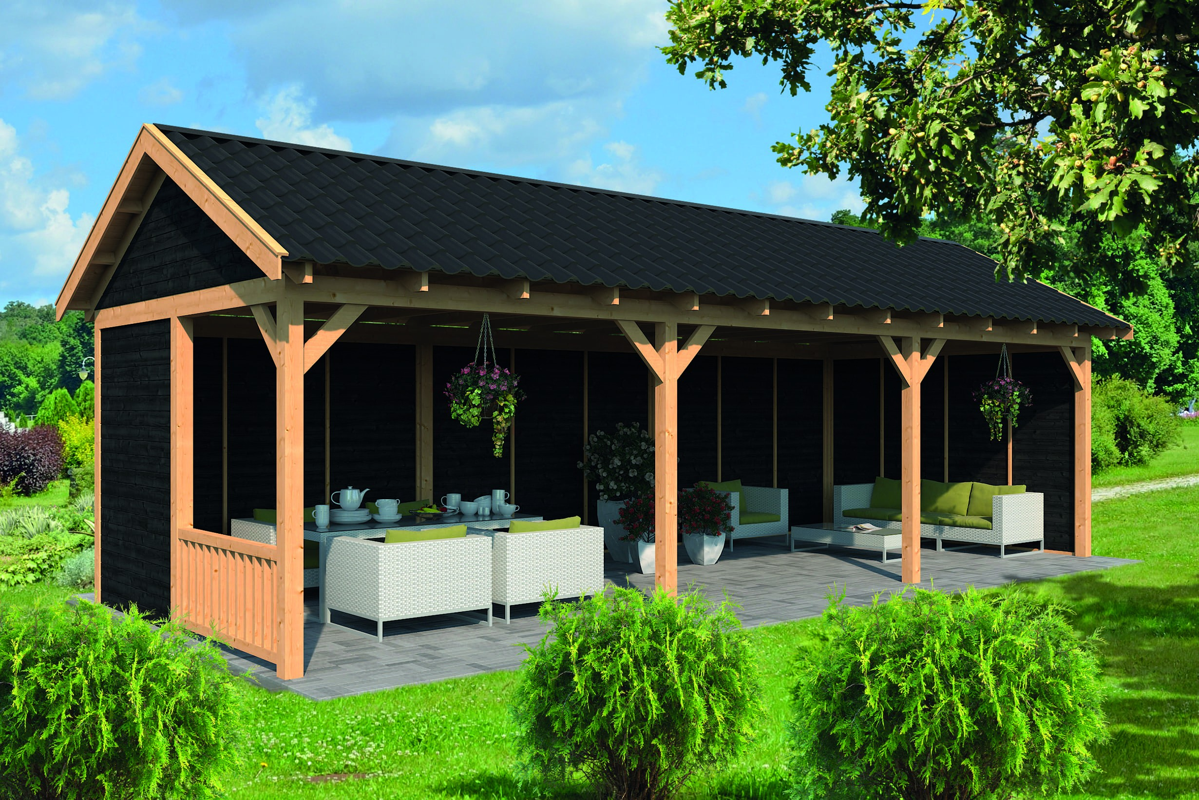 Montovaná chata Hamar 6 XL