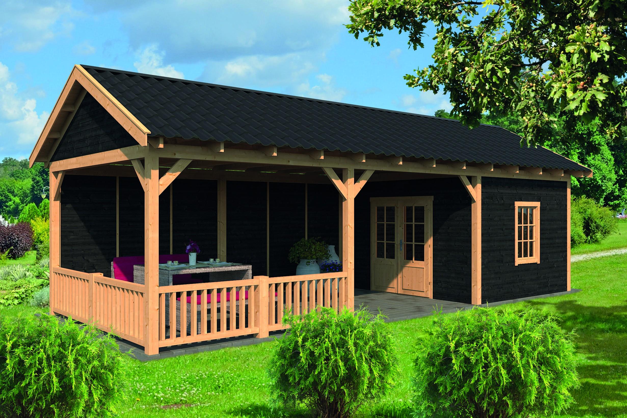 Montovaná chata Hamar 7 XL