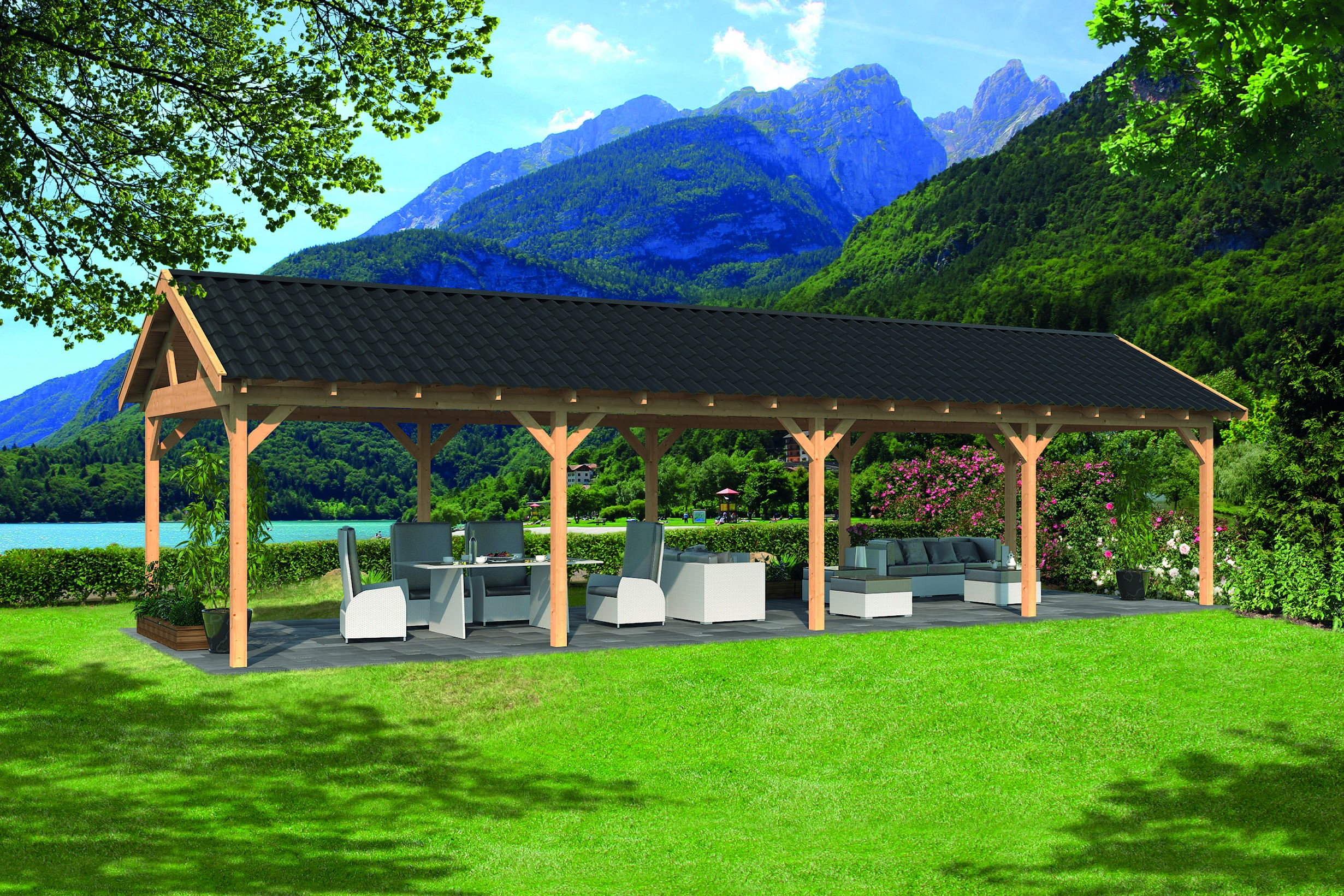 Montovaná chata Hamar 9 L