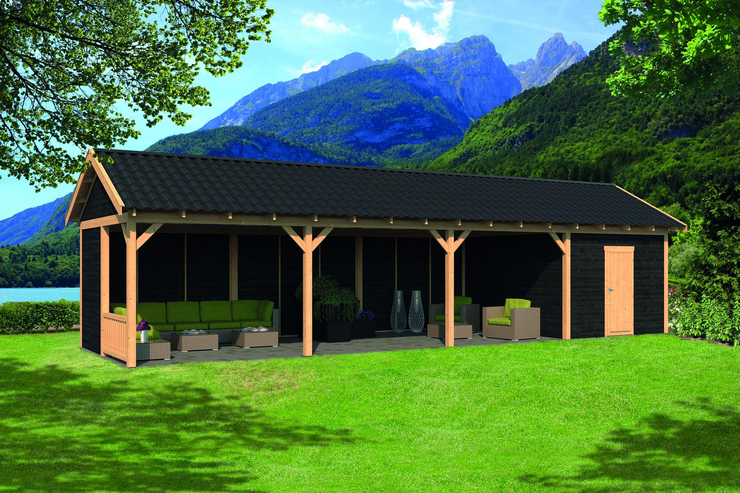 Montovaná chata Hamar 10 XL